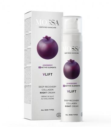 Mossa Cosmetics  Wrinkle Resist Collagen Night Cream