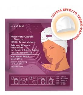 Gyada Cosmetics Maschera Capelli in Tessuto Equilibrante e Addolcente