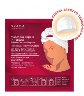 Maschera Capelli in Tessuto Effetto Termo-Vapore Protettiva e Ravviva Colore