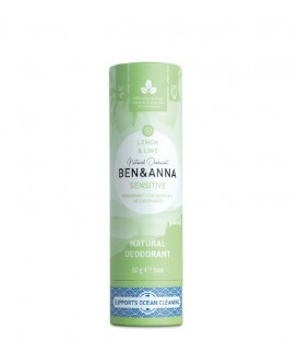 Ben & Anna Deodorante in Stick Sensitive Lemon & Lime