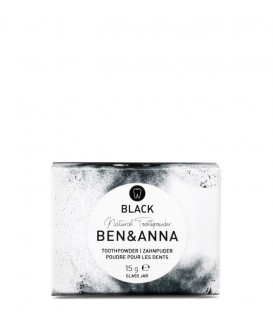 Ben & Anna Black Tooth Powder