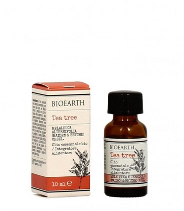 Olio Essenziale di Tea Tree bio - 10 ml - Bioearth
