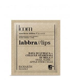 Bioearth Maschera Labbra Bava di lumaca e Cellule Staminali di Mela