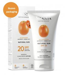 Lozione Solare SPF 20 - Mossa Cosmetics