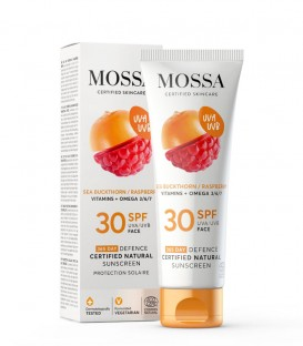 Mossa Cosmetics 365 Defence SPF 30 Face Natural Sunscreen