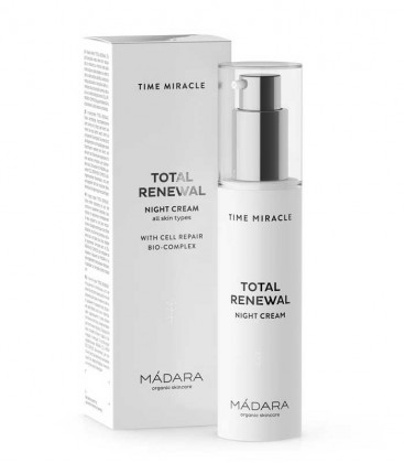 Crema Notte Time Miracle Total Renewal - Madara