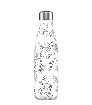 Chillys Bottle Line Art Flowers 500