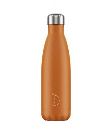 Chillys Bottle Matte Burnt Orange 500