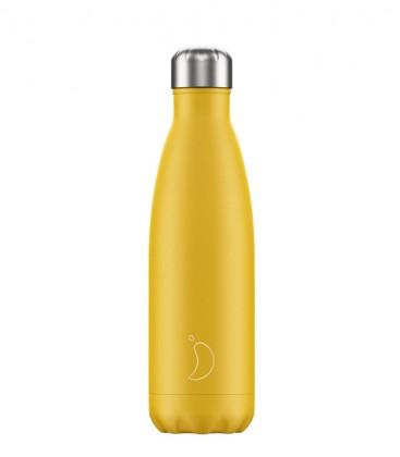 Chillys Bottle Matte Burnt Yellow 500