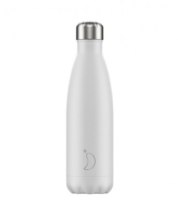 Chillys Bottle Mono White 500