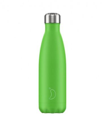 Chillys Bottle Neon Green 500