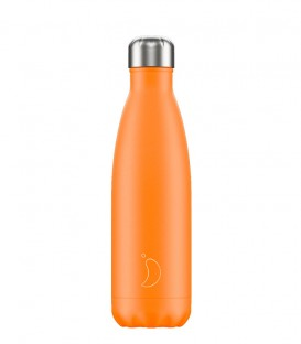 Chillys Bottle Neon Orange 500