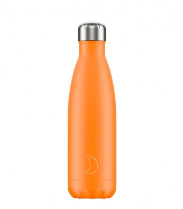 Chillys Bottle Neon Orange 500