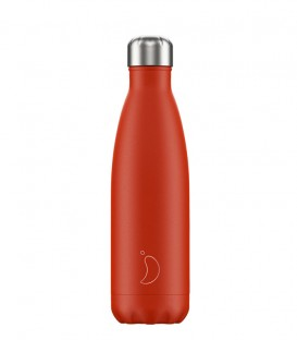 Chillys Bottle Neon Red 500