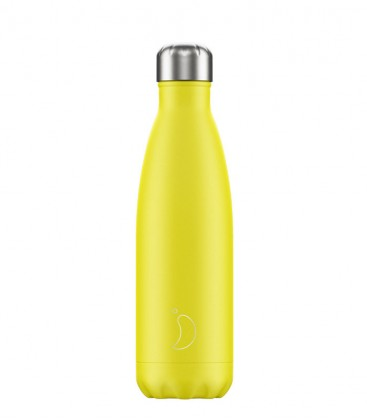 Chillys Bottle Neon Yellow 500