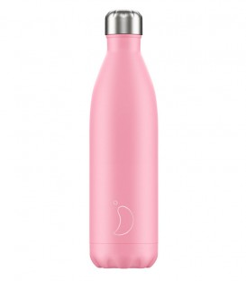 Chillys Bottle Pastel Pink 750