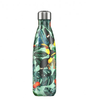 Chillys Bottle Tropical Toucan 500