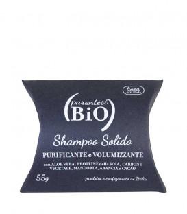 Shampoo Solido Purificante e Volumizzante