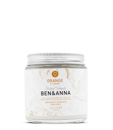 Ben & Anna Toothpaste Orange with Fluoride