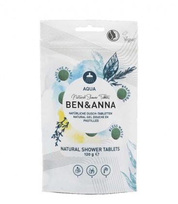 Ben & Anna Natural Shower Tablets Aqua