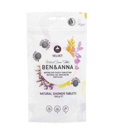 Ben & Anna Natural Shower Tablets Velvet