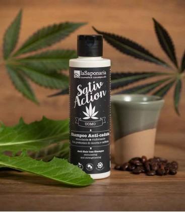 La Saponaria SativAction Shampoo Anti Caduta