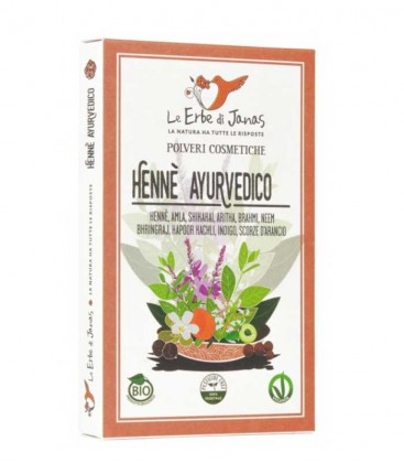Le Erbe di Janas Henné Ayurvedico Bio
