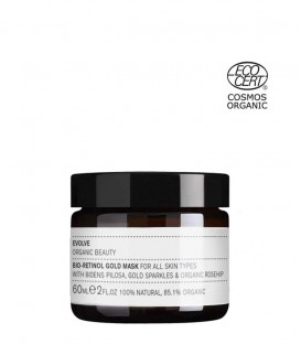 Evolve Organic Beauty Bio-Retinol Gold Face Mask