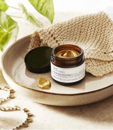 Evolve Organic Beauty Bio-Retinol Gold Face Mask