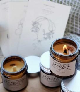 Cera Una Bolla Elegance Candle 120 - N7 Bourbon