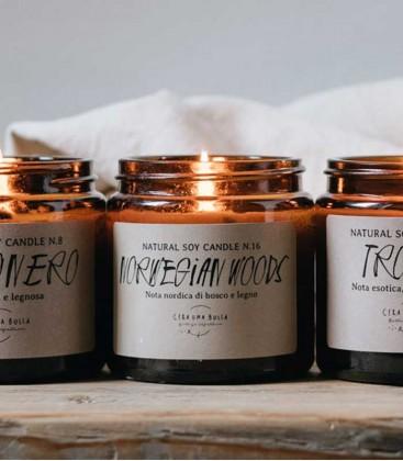 Cera Una Bolla Elegance Candle 120 - N16 Norwegian Woods