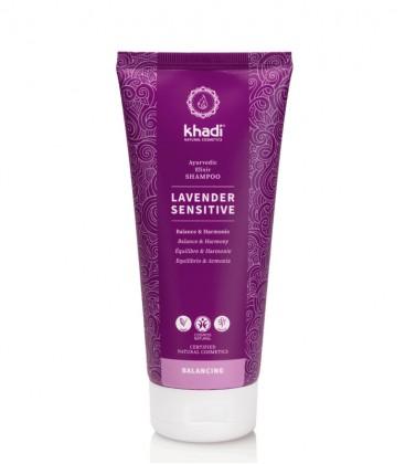 Khadi Shampoo Elisir Ayurvedico Lavender Sensitive