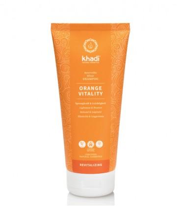 Khadi Shampoo Elisir Ayurvedico Orange Vitality