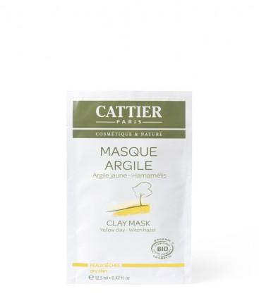 Monodose Maschera Argilla Gialla e Amamelide - Cattier
