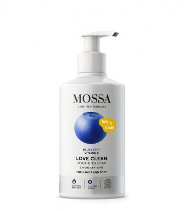 Mossa Cosmetics Love Clean - Sapone Lenitivo Mani e Corpo