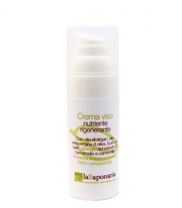 Crema Viso Nutriente e Rigenerante - La Saponaria