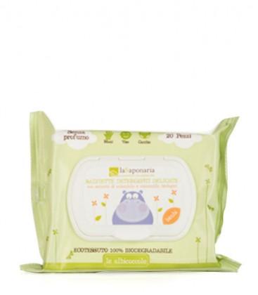 Salviette Detergenti Delicate - La Saponaria