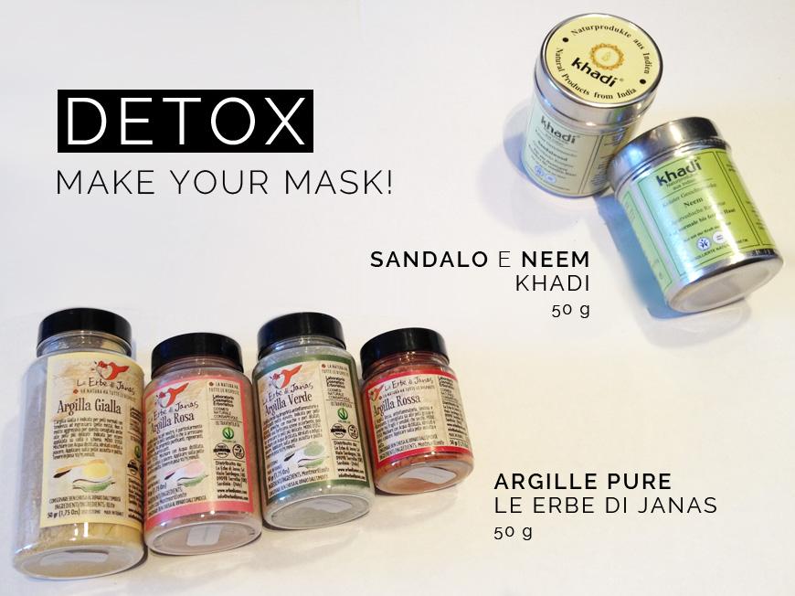 maschere e argille detox ecobelli blog
