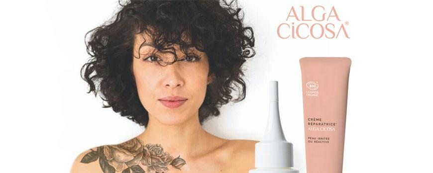 Cicatrizzare i tatuaggi con Alga Cicosa